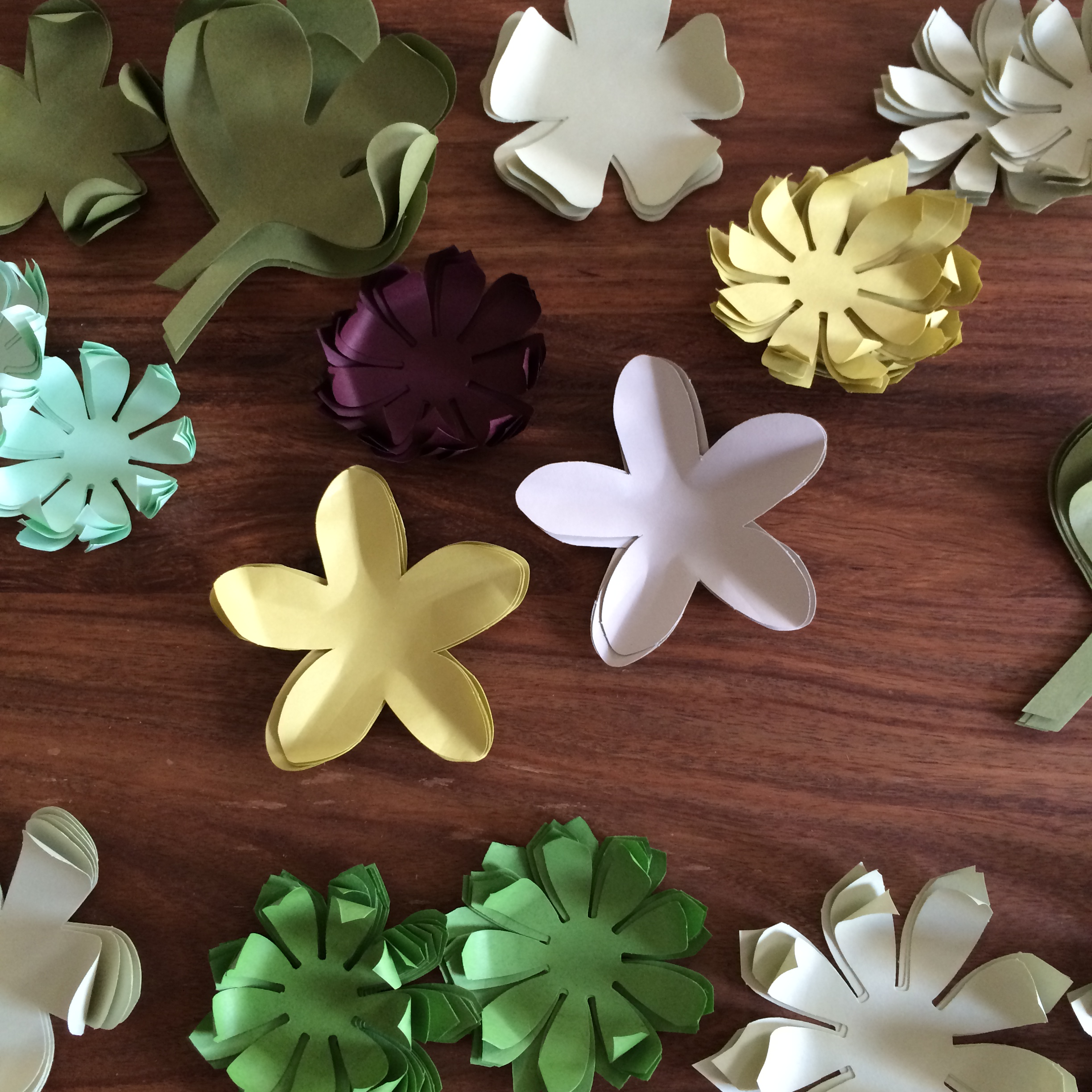 Paper Flowers A Summer Lifestyle